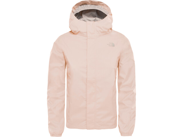 The North Face Resolve Reflective Takki Tytöt, pink salt
